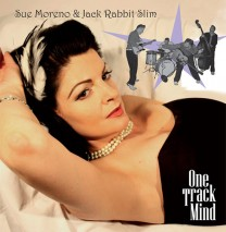 front cover Sue Moreno& JRS - One Track Mind550