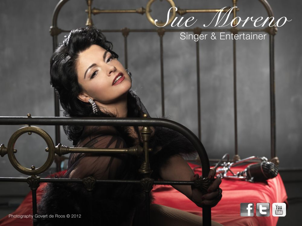 Sue Moreno singer & entertainer